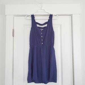 Forever 21 Navy Mini Summer Dress